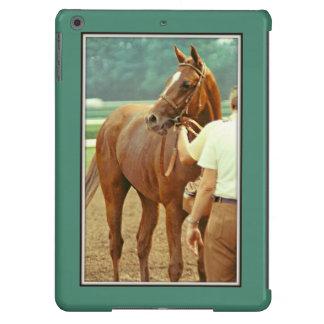 Caballo de carreras excelente afirmado 1978 funda para iPad air