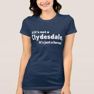 Caballo de Clydesdale Tshirt