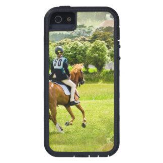 Caballo de Eventing iPhone 5 Case-Mate Coberturas