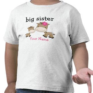 Caballo de la hermana grande camisetas