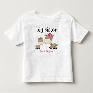 Caballo de la hermana grande playeras