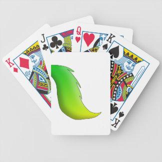 Caballo de la Limón-Cal/unicornio/cola de Pegaso Baraja Cartas De Poker