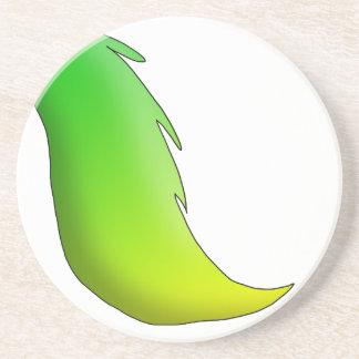 Caballo de la Limón-Cal/unicornio/cola de Pegaso Posavasos Personalizados