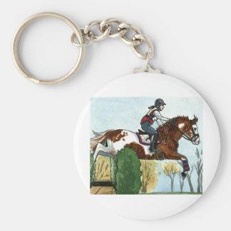 Caballo de la pintura del vuelo del arte del cabal llaveros