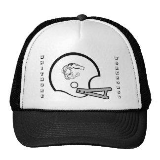 Caballo de labranza 2008 en casco de la escuela vi gorra