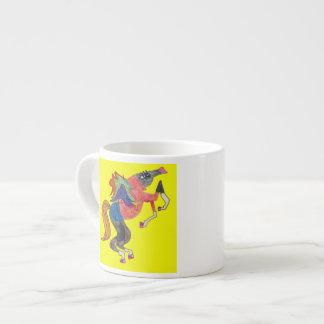 Caballo de lujo de Prancy Taza Espresso
