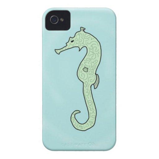 Caballo de mar Case-Mate iPhone 4 carcasa