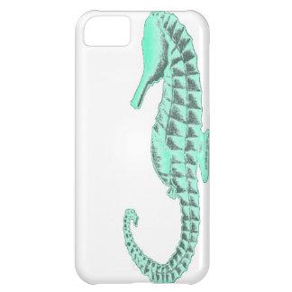 Caballo de mar del vintage funda para iPhone 5C