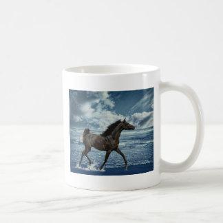 Caballo de mar taza clásica