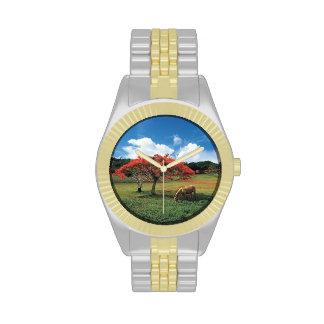 Caballo - de oro - que pasta - reloj adaptable
