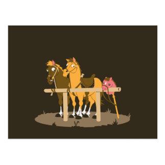 Caballo de palillo - quiera ser caballo postal