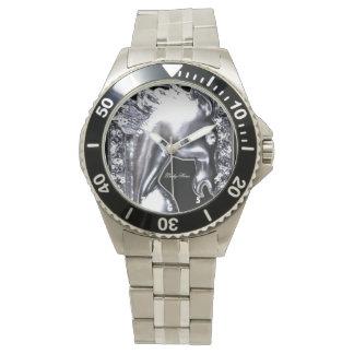 Caballo de plata relojes de mano