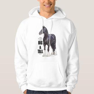 Caballo de proyecto del condado suéter con capucha