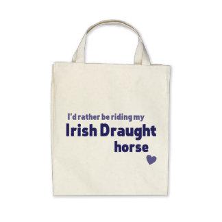 Caballo de proyecto irlandés bolsa