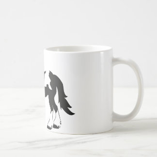 Caballo de proyecto manchado taza de café