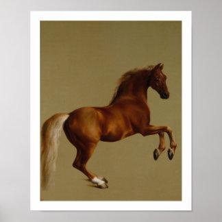 Caballo de raza de Whistlejacket de George Stubbs Posters
