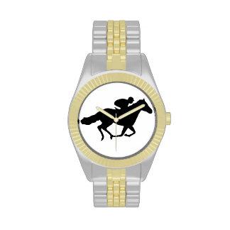 Caballo de raza relojes