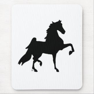 Caballo de Saddlebred del americano Tapetes De Ratón