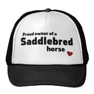 Caballo de Saddlebred Gorras De Camionero