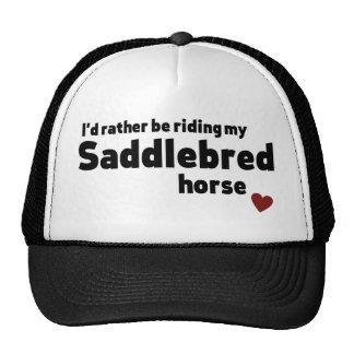 Caballo de Saddlebred Gorros
