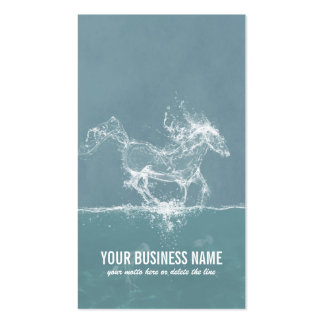 Caballo del agua - tarjeta de visita