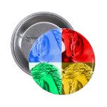 Caballo del arte pop, personalizable pin