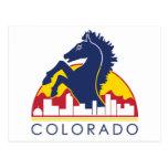 Caballo del azul de Colorado Postal