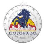 Caballo del azul de Colorado Tablero De Dardos