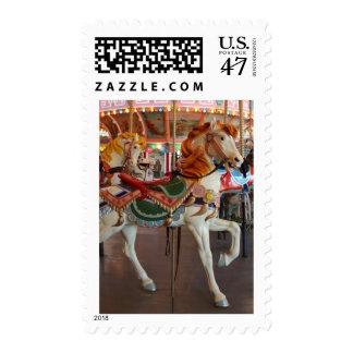 Caballo del carrusel, 2 sello