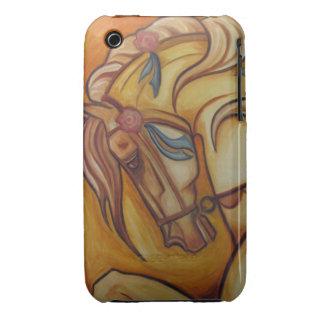 Caballo del carrusel iPhone 3 Case-Mate carcasas