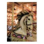 caballo del carrusel tarjetas postales