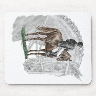 Caballo del Dressage del saludo del X-Alto Tapete De Ratón