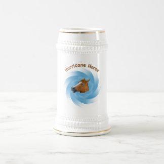 Caballo del huracán tazas de café