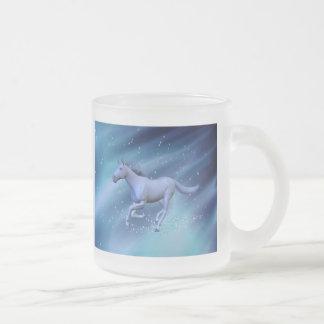 Caballo del invierno taza cristal mate
