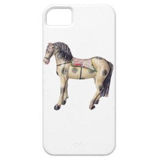 Caballo del juguete iPhone 5 Case-Mate protectores