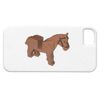 Caballo del ladrillo del juguete iPhone 5 coberturas