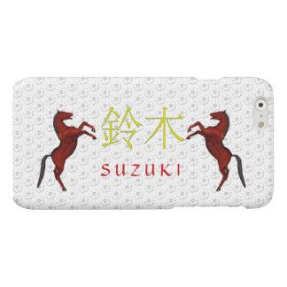 Caballo del monograma de Suzuki