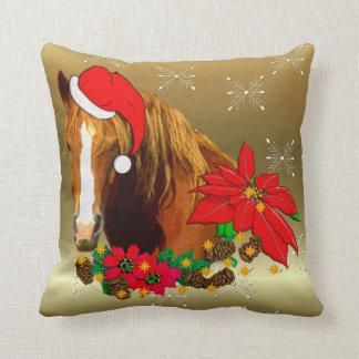 Caballo del navidad almohadas