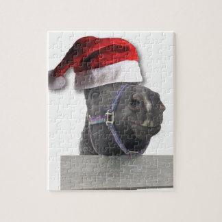Caballo del navidad rompecabeza con fotos