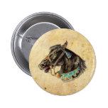 Caballo del Victorian Pin