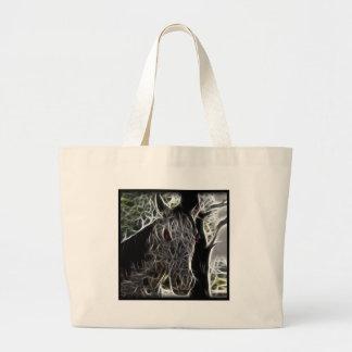 Caballo del zombi bolsas de mano