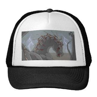 Caballo demoníaco gorras de camionero