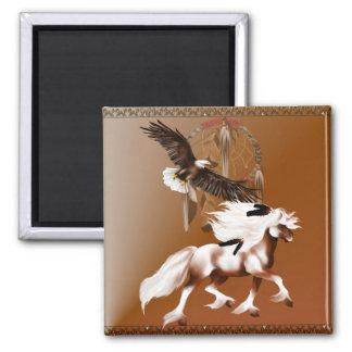 Caballo e imán de Eagle