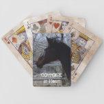 Caballo excelente - vaquera - occidental baraja de cartas