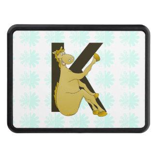 Caballo flexible del monograma K personalizado Tapas De Tráiler