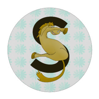 Caballo flexible del monograma S personalizado Juego De Fichas De Póquer