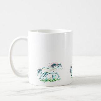 Caballo florido * taza