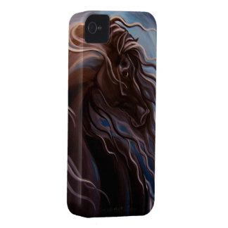 Caballo frisio Case-Mate iPhone 4 protectores