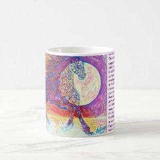 Caballo galopante mágico taza