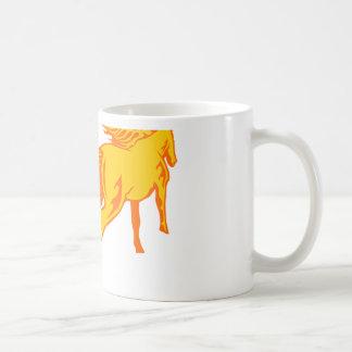 Caballo galopante taza